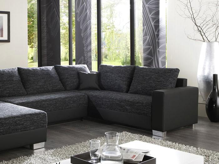 Stunning Wohnzimmer Grau Sofa Ideas - Sohopenthouse.us ... Wohnzimmer Couch Schwarz